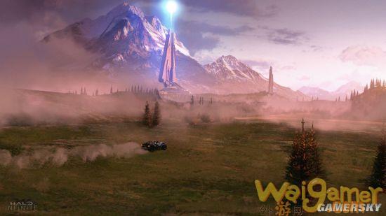 《光环:无限》被曝出新地图视频片段!破碎月球下的军备基地