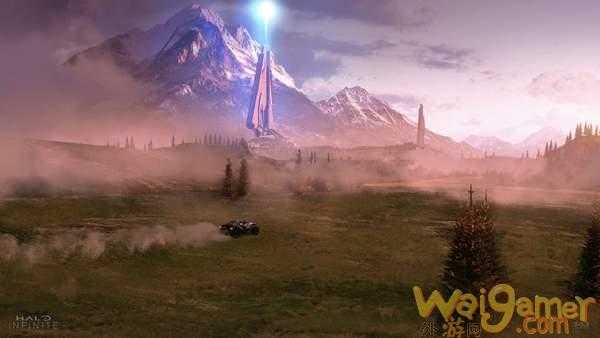 《光环:无限》新地图曝光 火箭军事基地和破碎的月球